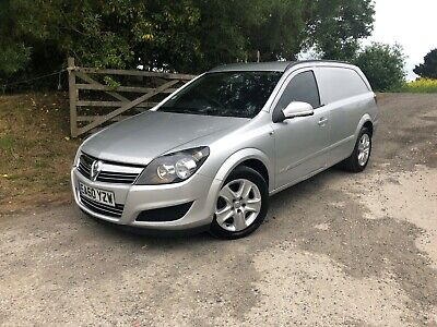 2010 Vauxhall Astra Sportive Van 1.9 Cdti Silver Air Con No Vat
