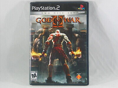 God of War II | Sony PlayStation 2 | PS2 Action Game | Black Label | Complete