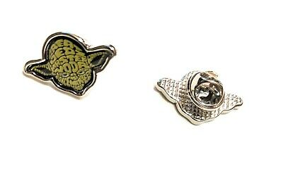 STAR WARS YODA Metal Pin brooch prop badge darth vader Luke cosplay US Seller