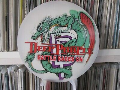"Deep Purple ‎– The Battle Rages On Mega Rare 12"" Picture Disc Promo Single LP"