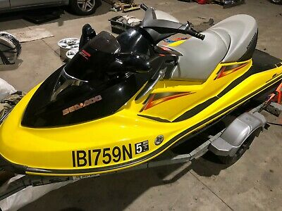 2004 Seadoo GTX Supercharged- Siezed Engine
