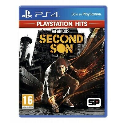 Sony Infamous: Second Son (Ps Hits) Videogioco Basic Playstation 4 Inglese