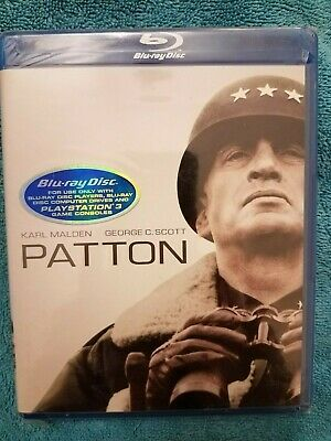"""Blu ray of """"Patton"""" sealed and never opened"""
