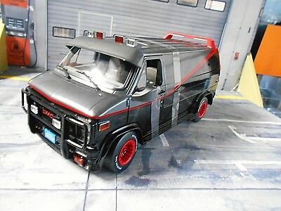 GMC B.A. SUV Van A-Team Movie Vandura 1983 TV Serie Filmauto A Greenlight 1:18