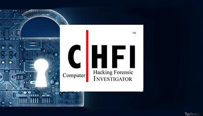 CHFI v9 : EC-Council Computer Hacking Forensic Investigator all in one pack