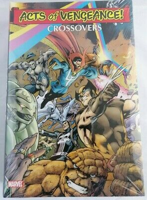 Acts of Vengeance Crossovers Marvel Comics Omnibus Brand New Factory Sealed