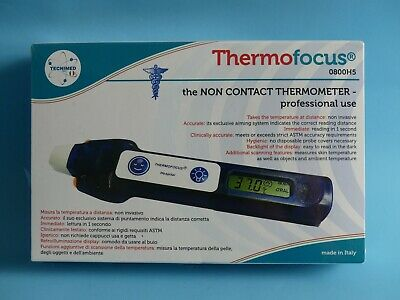 Thermofocus Non-Contact Infrared Digital Thermometer 0800H5 ~ New In Sealed Box
