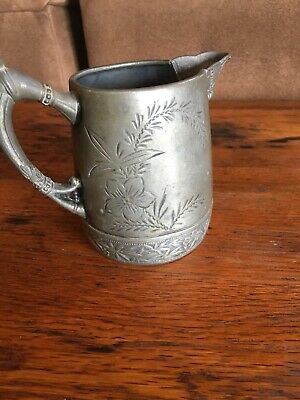 Vintage Silver Quadruple Plated Pitcher