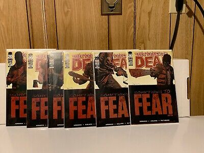The Walking Dead #97-102 1st App Negan Something to Fear Connecting Cover Set
