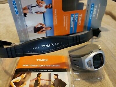 Timex Ironman Race Trainer T5G941F5  Heart Rate Monitor. Never Worn