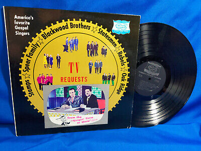 TV Requests from Singin' Time in Dixie LP V/A States Wood Rare Southern Gospel