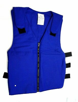 DuPont Cool Guard Heat Stress Body Cooling Ice Vest 99600 996000 Blue Banox