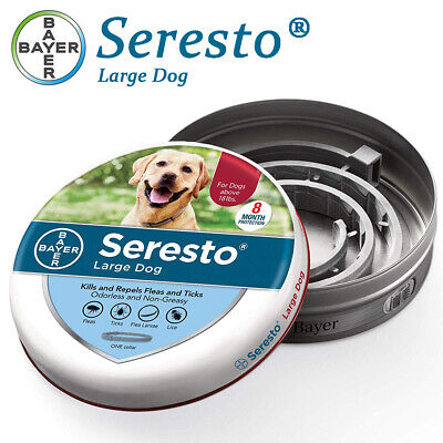 Bayer Seresto Flea and Tick Collar for Large Dog,FREE SHIPPING