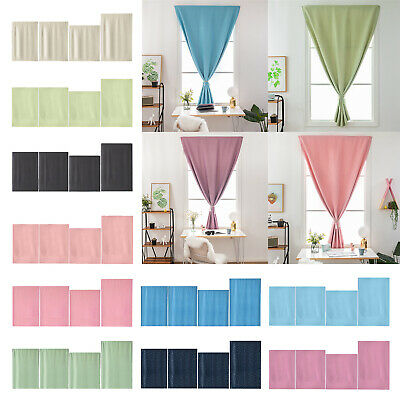 Living Bathroom Self-Adhesive Curtain Blinds Blackout Window Shades Curtains