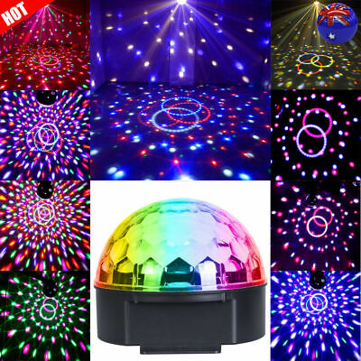 DMX Disco RGB Light Stage Effect DJ Laser LED Light Club Party Crystal Projector