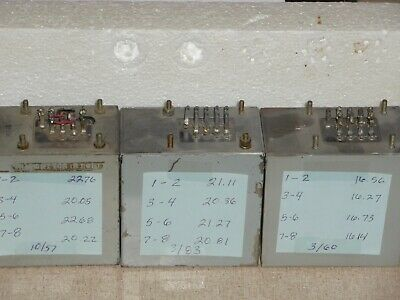 ONE WESTERN ELECTRIC REP 119C Repeating Coil