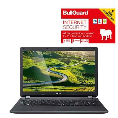 """Acer Aspire ES1-571-C55X 15.6"""" Laptop With BullGuard Unit Only No Power Supply"""
