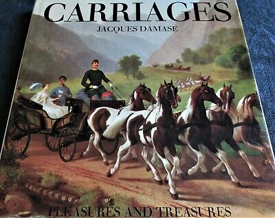 INTERESTING BOOK ABOUT HORSE DRAWN CARRIAGES ~ HISTORICAL PICTURES ~ 120 Pages