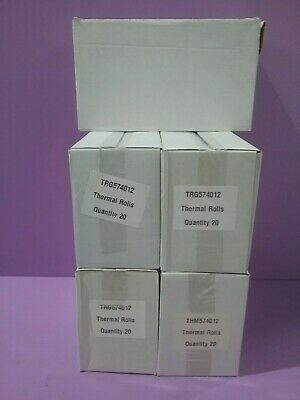 90 Rolls Of Thermal Paper, Till Roll, 57 x 40 mm (B37.5 / 06)
