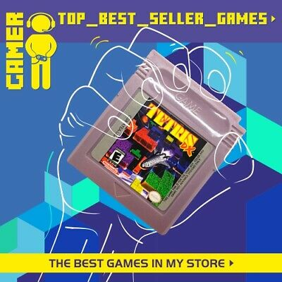 TETRIS DX DELUXE (Nintendo Gameboy Color GBC) Cart Only