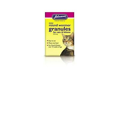 Johnsons Veterinary Products Ltd Jvp Cat & Kitten Easy Wormer Granules