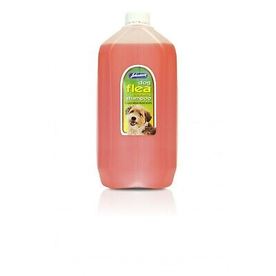 Johnsons Dog Flea Cleansing Shampoo 5 Litre