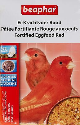 Beaphar Fortified Eggfood, 150 g, Red