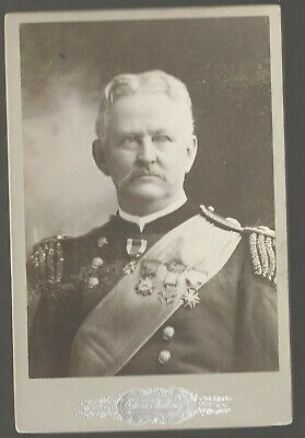 Cabinet Card Union General Wesley Merritt by Chickering