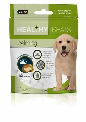 Mark & Chappell Vetiq Healthy Treats Calming For Dogs and Puppies