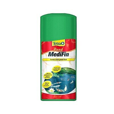 Tetra Pond MediFin, to Treat Most Common Fish Diseases, 250 ml