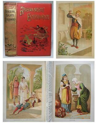 1899 THE ARABIAN NIGHTS Entertainments ALADDIN SINBAD Fairy Tales MYTHS & MAGIC