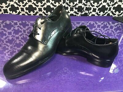 c5acf94d4 Kenneth Cole New York Straight Line Black Leather Oxford Dress Shoes - Sz.  8.5 M