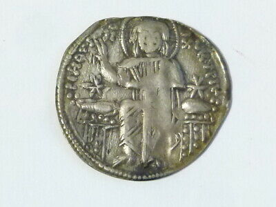 ANDRONICUS II and ANDRONICUS III 1325-28 Byzantine Ancient Silver Coin #Q33
