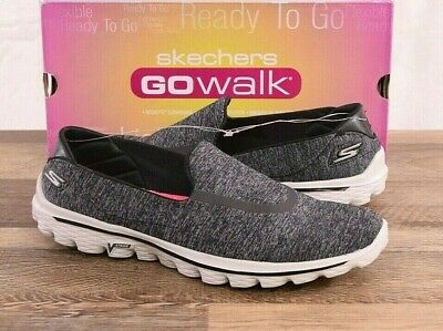 Women/'s SKECHERS GOWALK 4 PREMIER 14168w Black 82x sm NEW