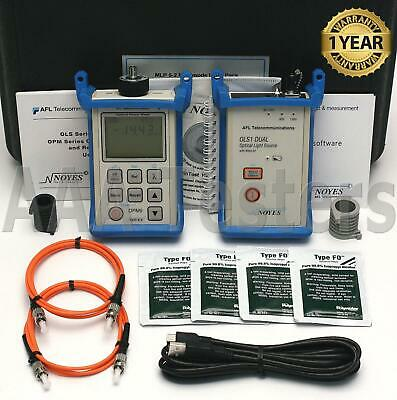 AFL Noyes MLP5-2 MM Fiber Optic Loss Test Set OLS 1D OPM 5 OPM5-2 MLP 5-2