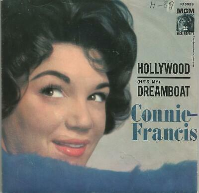 Lot of Forty Pop 45s  50's and 60's   Five Connie Francis Picture Sleeves