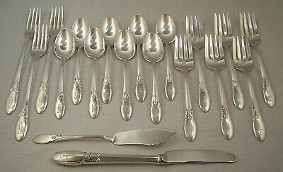 """CAMEO 1935 DINNER FORK BY ALVIN PLATE MONO /""""P/"""""""