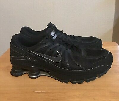 new style 51ef1 e4ed4 Nike Shox Turbo Plus VII Men Black Athletic Shoes Size 10.5 Pre Owned  324907-003