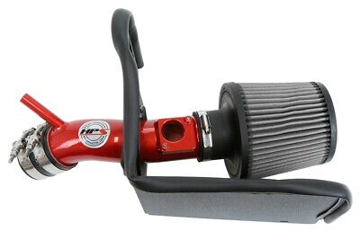 HPS Performance 827-549R Red Shortram Air Intake Kit with Heat Shield Cool Ram 1 Pack