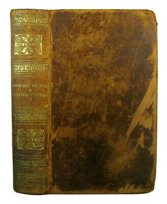 United States History Antique 1836 Colonial Indians Revolutionary War Engravings