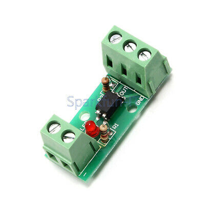 12V 1 Channel 80KHz Optocoupler Isolation Module Board No Din Rail PLC Processor