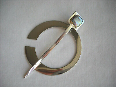JUL Designs Pearlescent Pennanular Shawl Pin