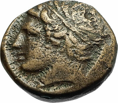 Philip II Alexander the Great Dad OLYMPIC GAMES Ancient Greek Coin Horse i77172