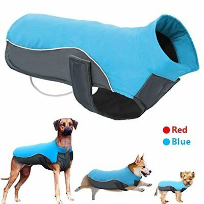 Reflective Waterproof Dog Coats Winter Warm Padded Pet Puppy Clothes Jacket S~XL