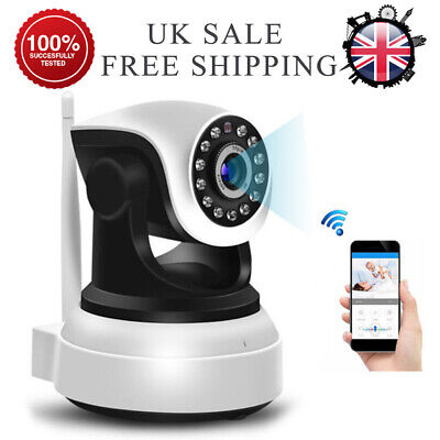 1080P WIFI IP Camera WHITE Wireless Outdoor CCTV HD Home Security IR Cam Sricam