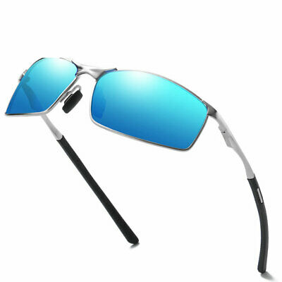 Men UV400 Lens Driving Sun Glasses HD Polarized Photochromic Sunglasses Eyewear