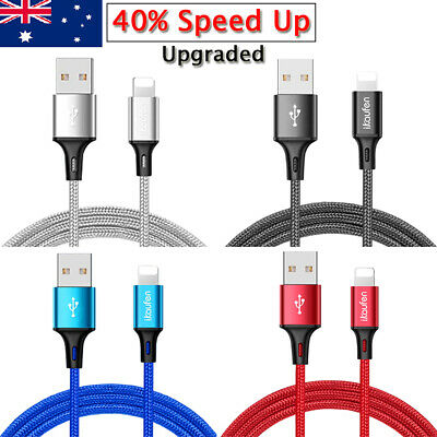 Genuine Ikaufen Fast Lightning USB Charger Sync Cable For Apple iPhone X iPad AU