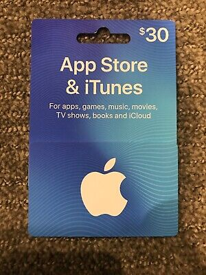 App Store & iTunes Gift Card $30