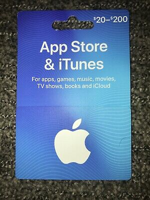 App Store & iTunes Gift Card $40