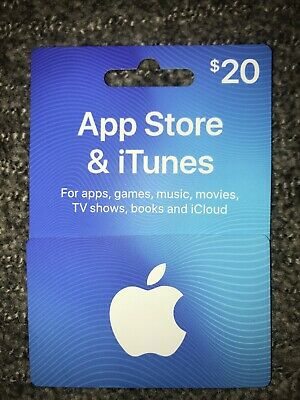 App Store & iTunes Gift Card $20